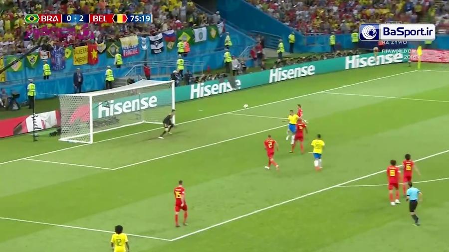 گل آگوستو؛ برزیل - بلژیک (HD)
