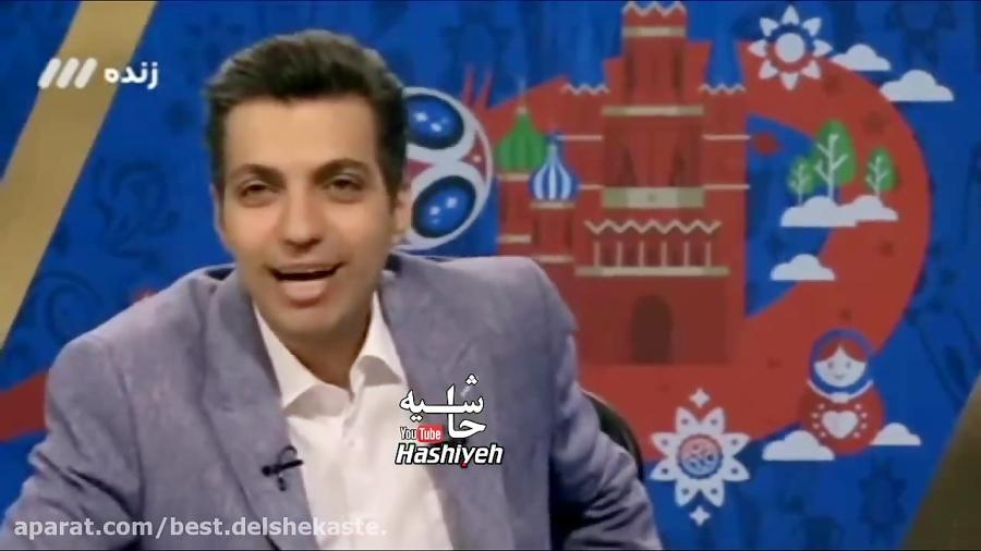 وقتی خنده های عادل فردوسی پور مانع گفتگوی او با خانوم برنده ماشین در برنامه اش می شود