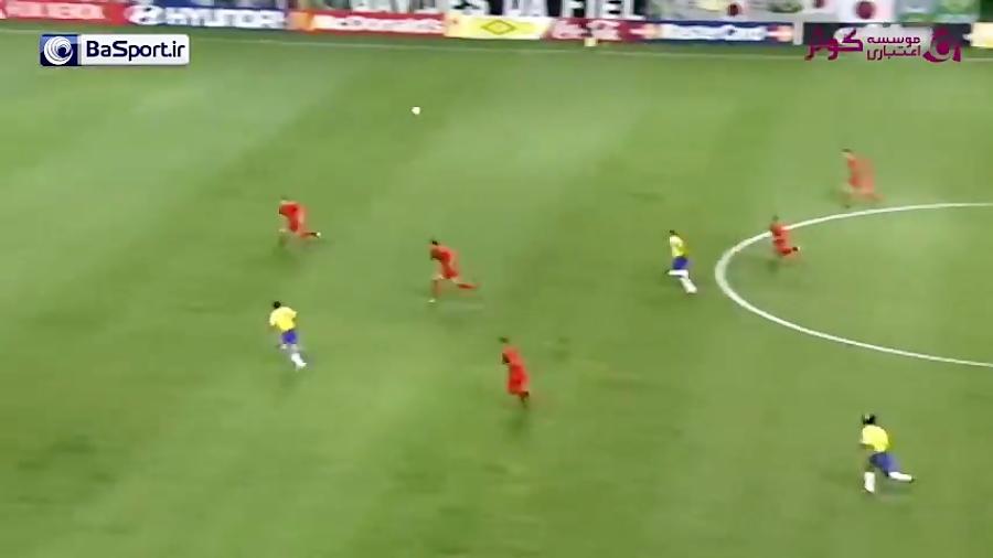 بازی نوستالژی برزیل - بلژیک در جام جهانی ۲۰۰۲