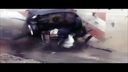 تست سرعت وتخریب ماشین با سرعت فول
