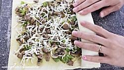 طرز تهیه پیراشکی قارچ - آسان و خوشمزه