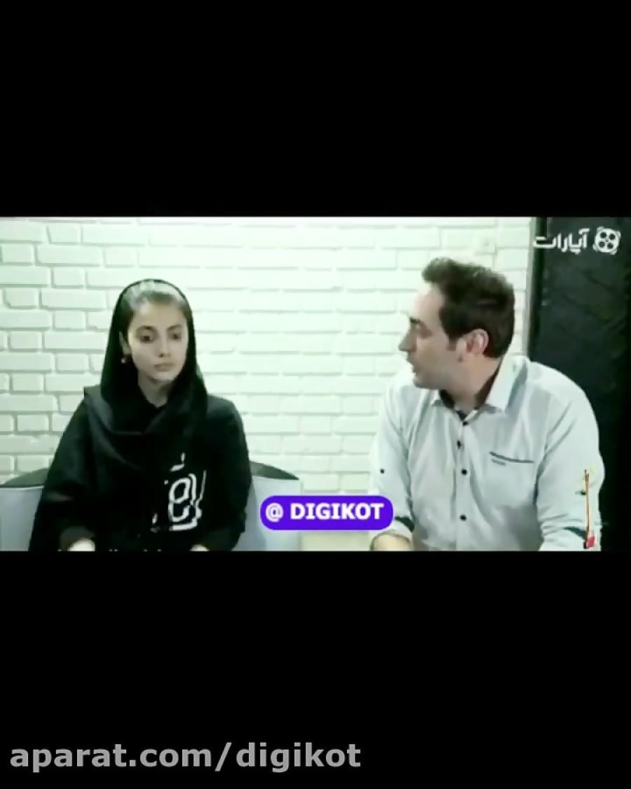 مصاحبه مائده هژبری رقاص معروف اینستاگرام قبل از دستگیری
