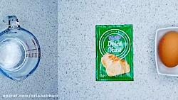 لذت آشپزی- طرز تهیه نان پیده ترکی