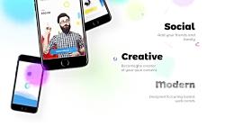 دانلود قالب افترافکت قالب تیزر معرفی پیشرفته اپلیکیشن