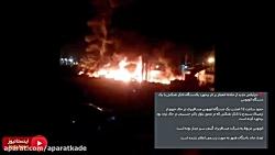تصادف و انفجار تانکر حامل سوخت با اتوبوس 20 مسافر کشته