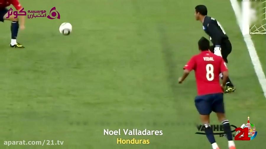 بهترین واکنش دروازه بانها در جام جهانی