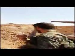 شهید مدافع حرم لحظاتی قبل از شهادت