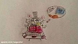 نقاشی من از مولتن فردی ((Molten Freddy))