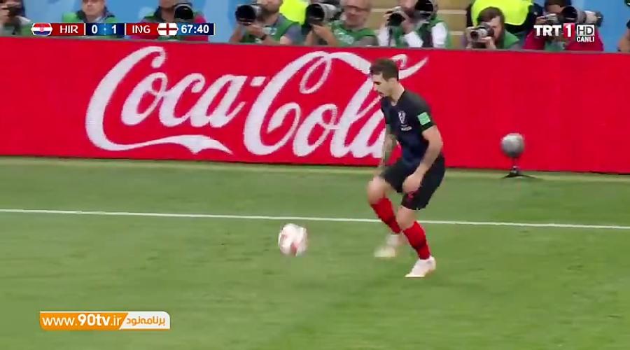 گل اول کرواسی به انگلیس (پریشیچ)