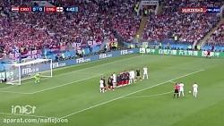گل اول انگلیس به کرواسی - جام جهانی 2018 روسیه