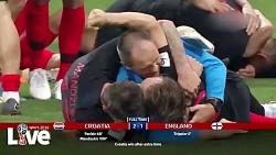 برای اولین بار در تاریخ یک ملت، صعود کرواسی به فینال