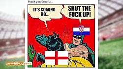 فان؛ نگاهی با چاشنی طنز به باخت انگلیس مقابل کرواسی