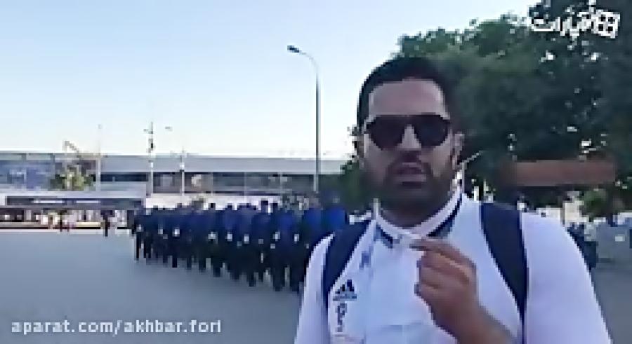 زاوش محمدی - خبرنگار اعزامی خبرفوری در مسکو - روسیه