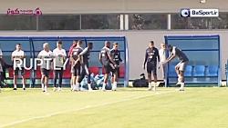 تمرین تیم ملی فرانسه (97/...