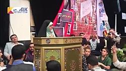 شعرخوانی حماسی خواهر مسیح علینژاد