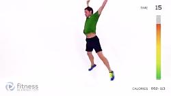 تمرین ورزشی چربی سوزی ب...