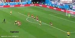 خلاصه بازی بلژیک 2 - 0 انگلیس