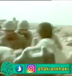 لحظه شهادت رزمندگان اسلام