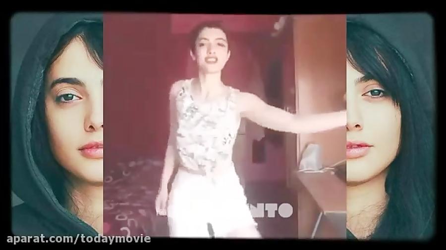 فیلم بهترین رقصهای جنجالی مائده هژبری - دختر هفده ساله رقصنده اینستاگرام