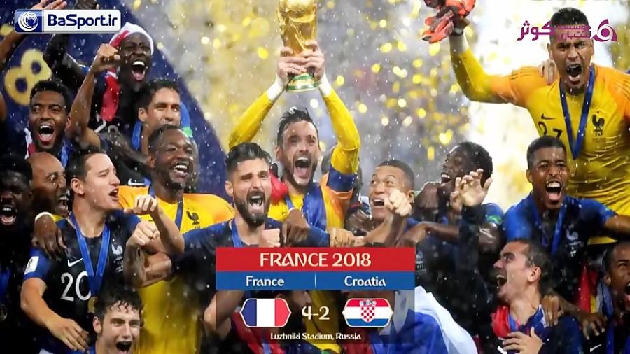 برندگان ادوار جام جهانی فوتبال در گذر زمان