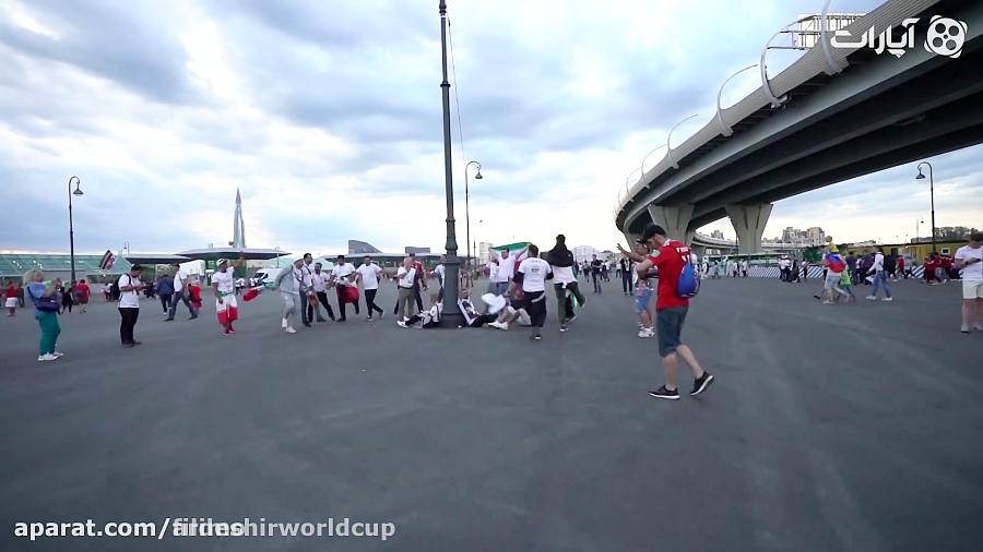 قسمت هایی از برنامه «جام جهانی با اردشیر احمدی»