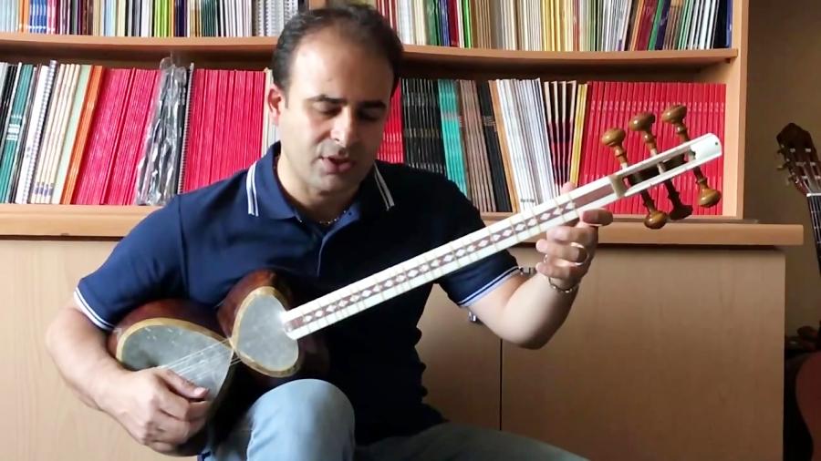 دانلود فیلم آموزش قرعهی فال تصنیف قدیمی آواز دشتی ر (دستگاه شور سل) نیما فریدونی تار