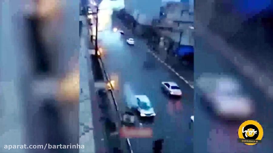 ویدئو؛ مجموعه ای از بدشانسی ها