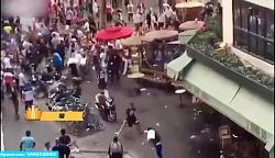 درگیری و تخریب یک فروشگاه در پاریس پس از قهرمانی فرانسه
