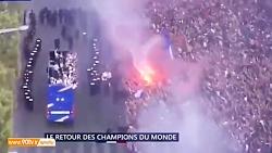 بازگشت تیم ملی فرانسه و...