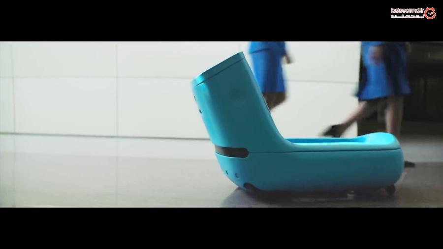 پیشرفته ترین ربات دنیا که در فرودگاه مراقب مسافران است