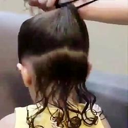 شنیون مو کودک