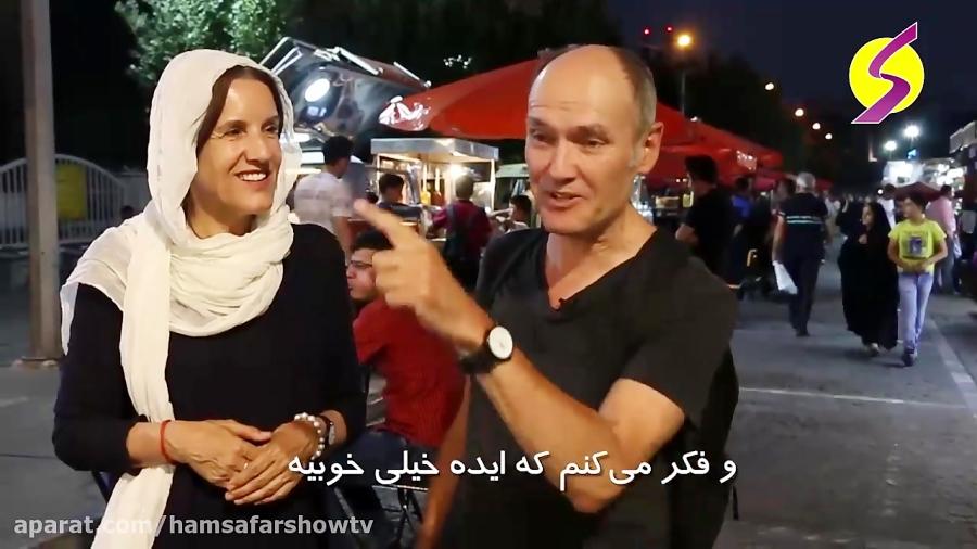 باب همایون؛ وعده گاه دوستداران غذای خیابانی