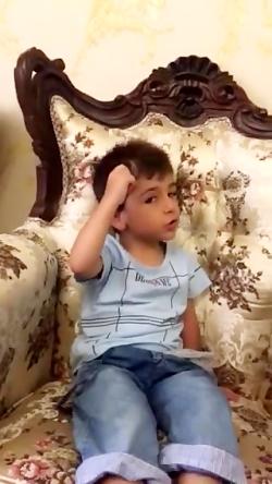 حیدر بابا توسط کودک خرد...