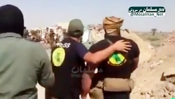 به رگبار بستن داعش توسط...