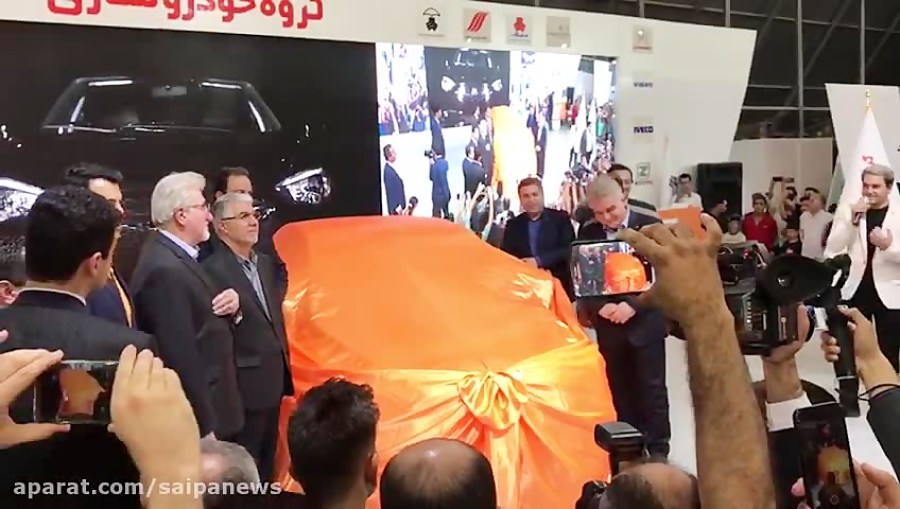 """معرفی خودرو جدید سایپا """"رُهام"""""""