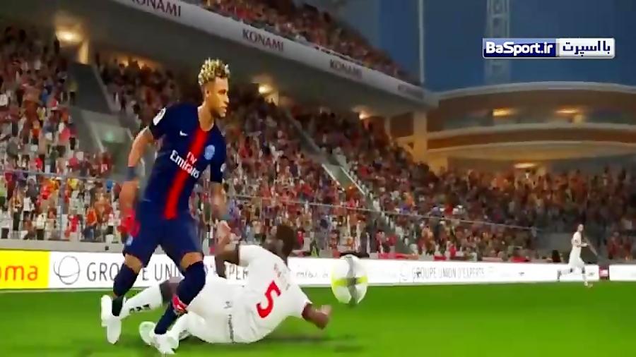 گیم پلی جذاب از بازی PES 2019