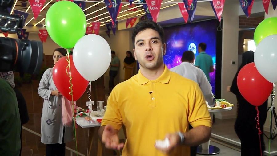 جشن صدمین قسمت برنامه فیت در ساختمان آپارات