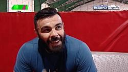 مصاحبه با امیرعلی اکبری در تمرینات فشرده رشته MMA