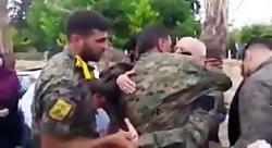 اولین دیدار اسطوره های تاریخ ساز حزب الله لبنان در دفاع از فوعه و کفریا با خانوا