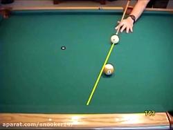 آموزش بیلیارد- چگونه یک ضربه دابل (Double)حرفه ای بزنیم