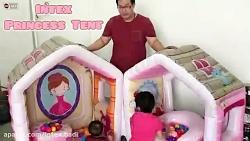خانه بازی کودک دو تکه