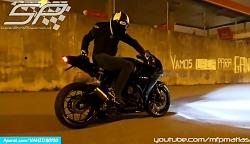 رانندگی با موتورسیکلت ...