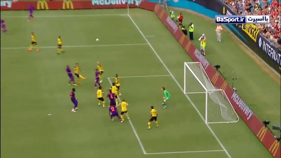 خلاصه بازی لیورپول 1-3 دورتموند (HD)