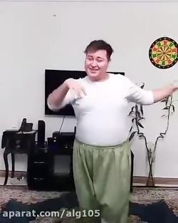 رقص باحال با اهنگ ایداد...