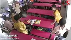 فیلم لحظه قتل دانش آموز...
