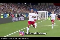 وقتی که گزارشگر فوتبال تو تماشا چی ها دختر میبینه