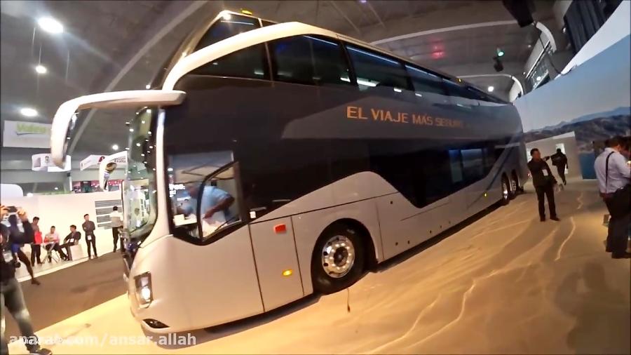 اتوبوس دو طبقه ولوو VOLVO 9800 DD 2018