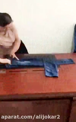 آموزش تا کردن لباس به صورت حرفه ای