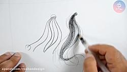 آموزش طراحی پایه ۲- خط در طراحی