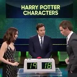 بازی هری پاتر با ادی رد...